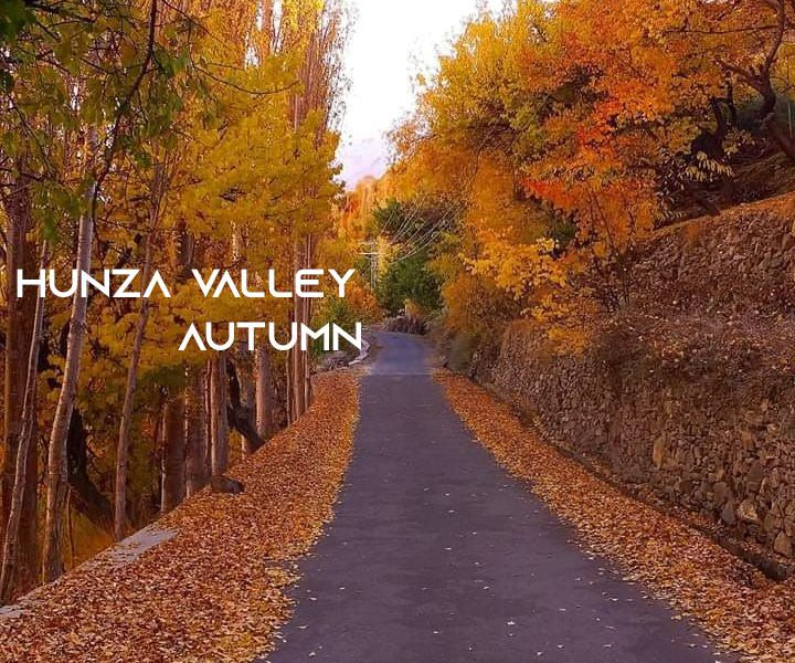 Hunza Valley Autumn