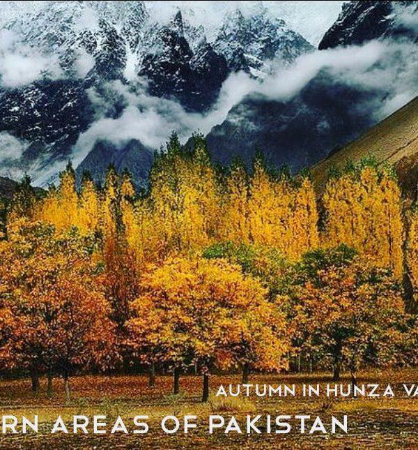 Northern Areas of Pakistan, Autumn in Hunza Valley