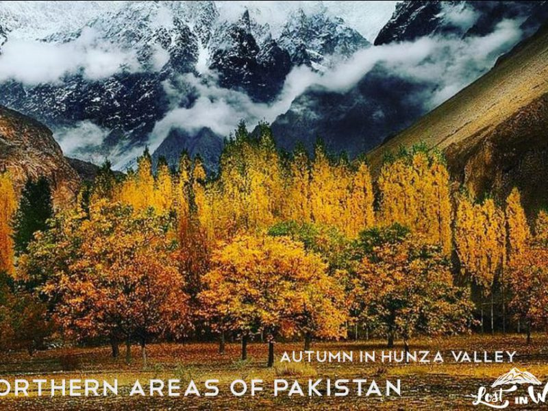 Northern Areas of Pakistan, Autumn in Hunza Valley